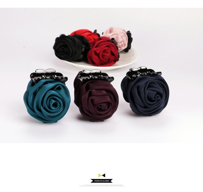 HTB1bTLgMpXXXXXVXpXXq6xXFXXXE Gorgeous Rose Fashion Hair Claws For Women - 7 Colors