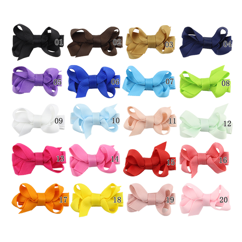 Korean version of the simple solid color bubble flower childrens bow hairpin duckbill clip childrens bow hair accessoriesKorean version of the simple solid color bubble flower childrens bow hairpin duckbill clip childrens bow hair accessories