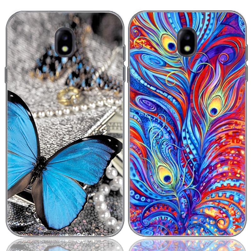 Drop Shipping TPU Soft Phone Case för Samsung Galaxy J5 2017 J530 - Reservdelar och tillbehör för mobiltelefoner