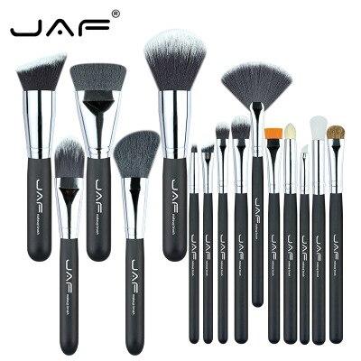 50sets/lot jaf brand hot 15pcs/set makeup brushes make up