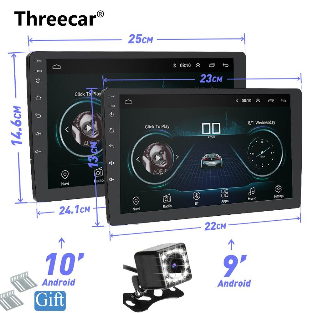 9 10 INCH Android 8 1 GPS Navigation Autoradio Multimedia DVD Player Bluetooth WIFI MirrorLink OBD2