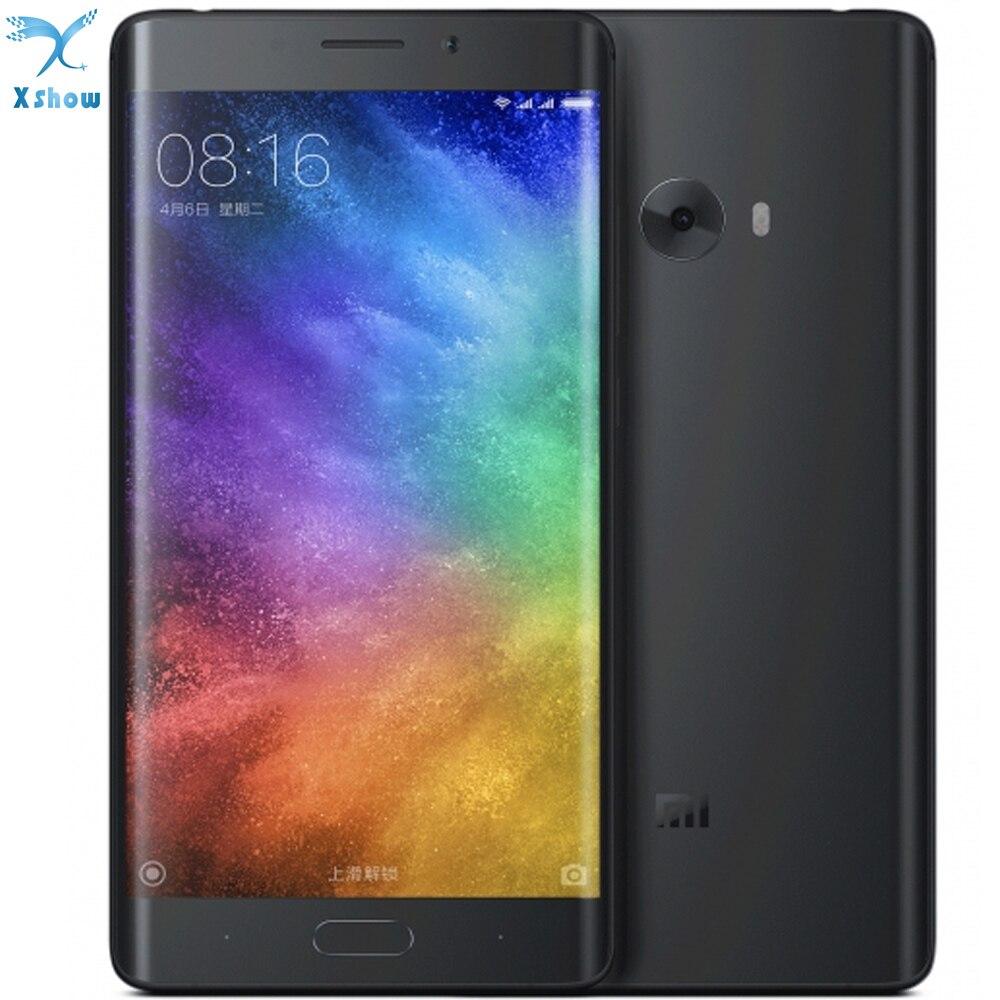 Original Xiaomi Mi Note 2 Mobile Phone Dual 3d Curved Glass Redmi 4g Lte Simcard Ram 1gb Internal 8gb Snapdragon 821 4gb 64gb Rom 57 Flexible Display 2256mp Camera In Phones From