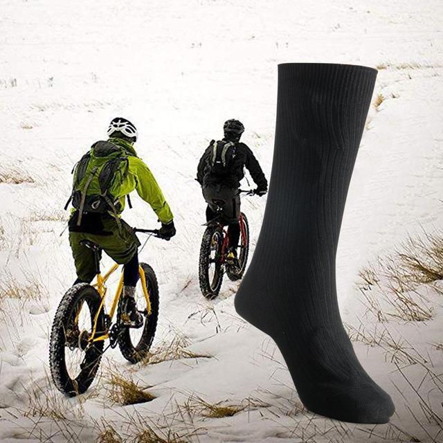 Warmski Unisex Thermal Cotton Heated Socks 2