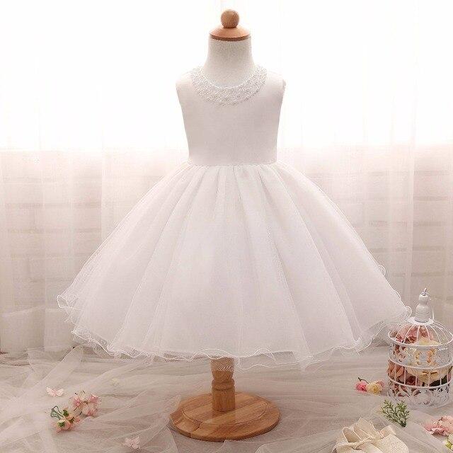 Bambino di 1 anno di festa di compleanno vestito infantile ragazza  Battesimo abiti Eleganti bambini vestiti 72c2482d368