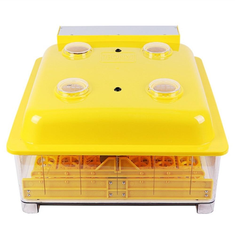 все цены на Fully Automatic Turning 48 Eggs Incubator LED Display Digital Temperature control Hatchery Machine Poultry Hatcher онлайн