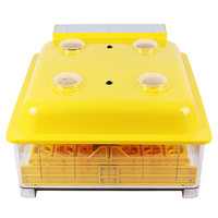 Fully Automatic Turning 48 Eggs Incubator LED Display Digital Temperature Control Hatchery Machine Poultry Hatcher