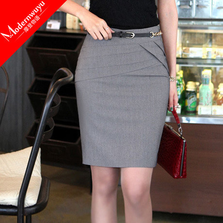 Popular Pencil Skirt Grey-Buy Cheap Pencil Skirt Grey lots from ...