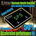 Стайлинг для автомобиля электронный контроллер дроссельной заслонки Автомобильная педаль акселератора регулятор отклика для JAGUAR XF 2010 +