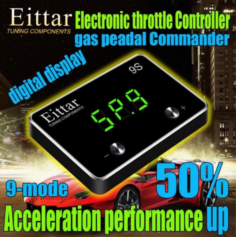Car Styling Automobile Electronic Throttle Controller Car Gas Pedal Accelerator Response Controller For JAGUAR XF 2010+