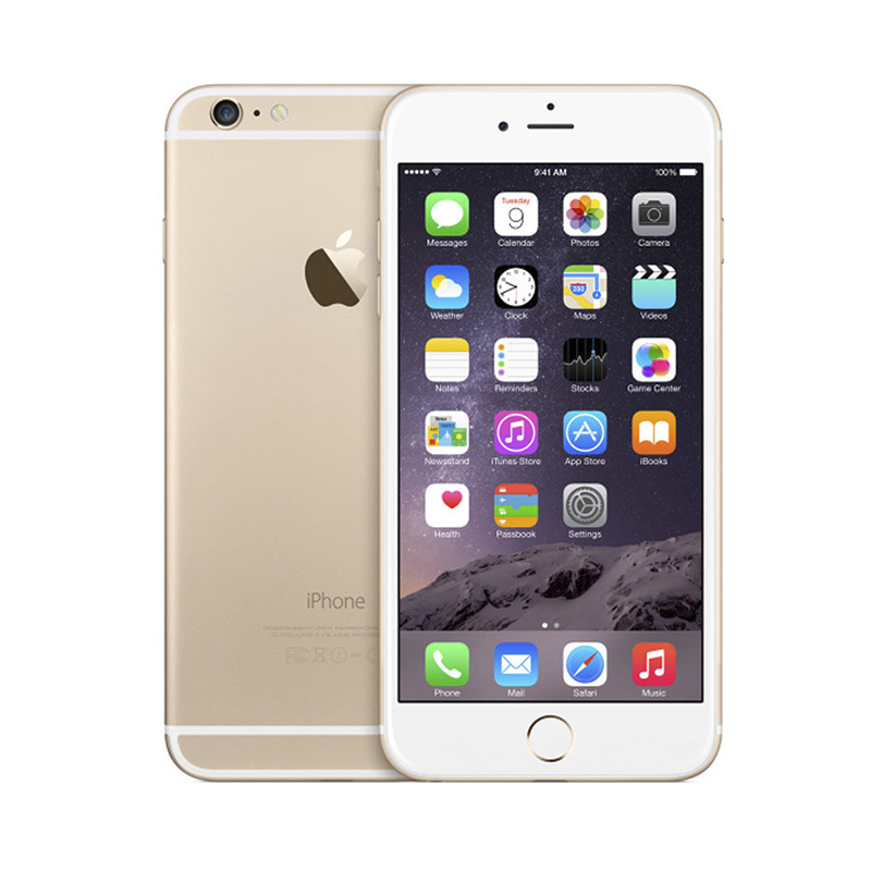 Цена за Разблокирована Apple iPhone6 iphone 6 Dual Core 4.7 дюймов 1.4 ГГц 8.0MP Камера 3 Г WCDMA 4 Г LTE Используется Телефон