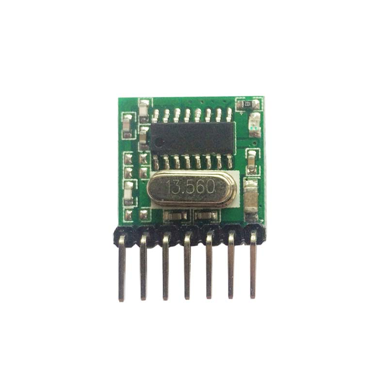 Image 4 - Universal 5 pieces 433 Mhz Superheterodyne RF wireless transmitter module 1527 Encoding EV1527 Code 3V 24V For Remote control-in Remote Controls from Consumer Electronics