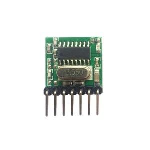 Image 4 - Universal 5 pieces 433 Mhz Superheterodyne RF wireless transmitter module 1527 Encoding EV1527 Code 3V 24V For Remote control