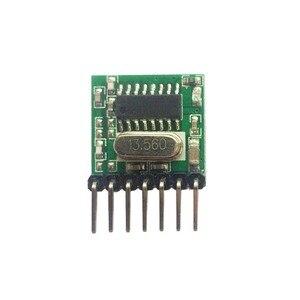 Image 4 - Universale 5 pezzi 433 Mhz Supereterodina RF wireless modulo trasmettitore 1527 Codifica EV1527 Codice 3V 24V Per A distanza di controllo