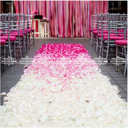 decoration marriage bed. 500 Pcs Artificial Silk Rose Flower Petals Wedding Party Decoration Decor  Marriage room decorate the wedding photo bed in Dried Flowers