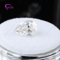 Горячая Распродажа цена moissanite выглядят как настоящие алмазы D Цвет 1 карат 5*8 мм VVS 3ex Груша Форма для кольцо браслет ожерелье серьги
