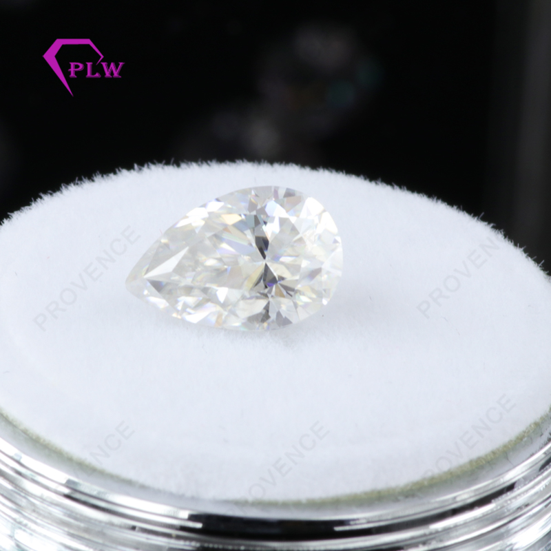 Hot sale price moissanite look like real diamond D color 1 carat 5*8 mm VVS 3ex pear shape for ring bracelet necklace earring Hot sale price moissanite look like real diamond D color 1 carat 5*8 mm VVS 3ex pear shape for ring bracelet necklace earring