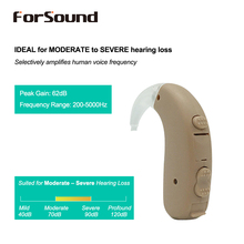 Super Power Digital BTE Hearing Aid H P trimmer 3 Programs Telecoil Like Siemens FAST P FUN P