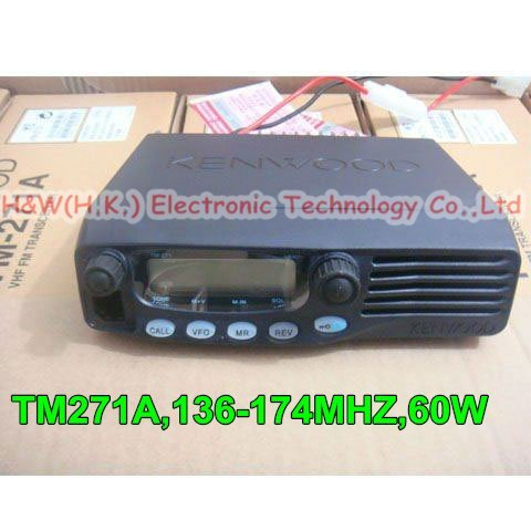 TM-271A VHF 136-174MHz FM Mobile Two Way Radio Transceiver for Taxi/Wholesale Retail TM271A