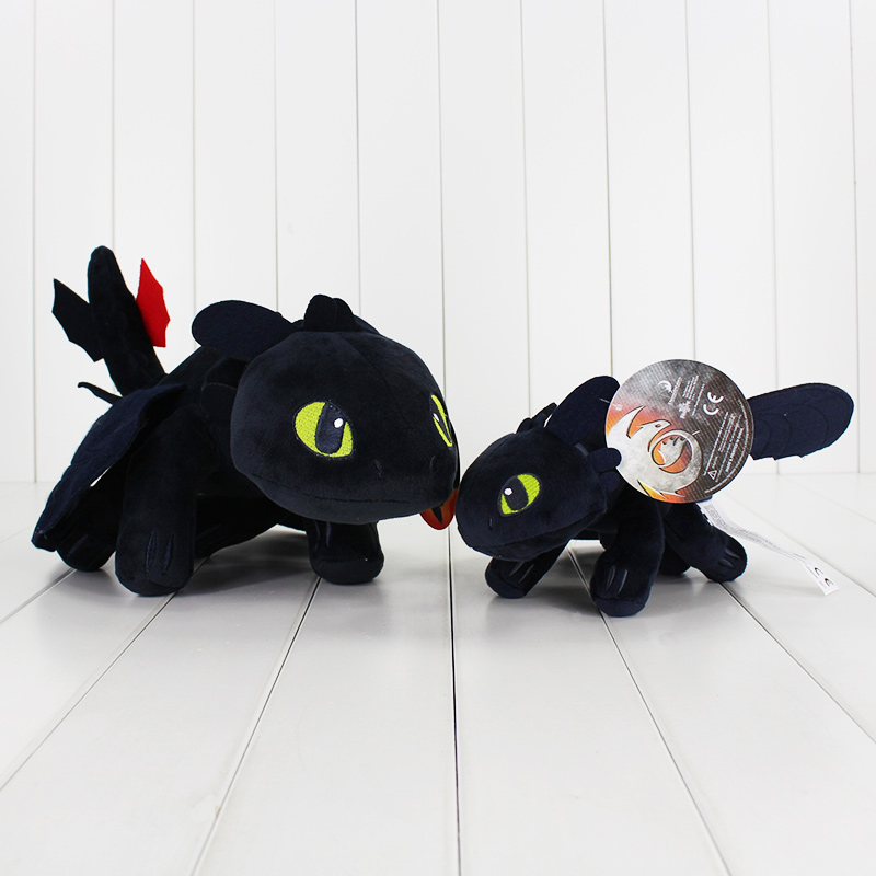 How To Train Your Dragon Toothless Dragon Plush Stuffed Animals Doll