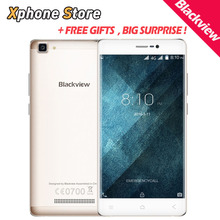 Оригинал Blackview A8 Макс 5.5 »HD Экран Android 6.0 MTK6737 Quad Core 1.3 ГГц 2 ГБ RAM 16 ГБ ROM 4 Г LTE Смартфон GPS Dual SIM