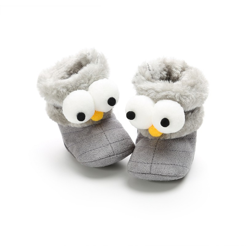 Shoes Baby Girl Winter Baby Boys Girls Shoes Boots Infants Warm Shoes Faux Fur Girls Baby Booties Leather Boy Baby Boots