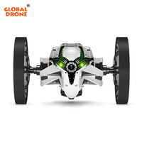 Global Drone Electric Bounce Car Jumping Sumo Flexible Wheel LED Night Light RC Robot Car Remote Control Toys Gift for Children