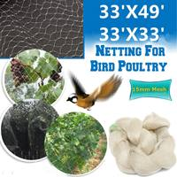 10x10/15m Extra Strong Anti Bird Mesh Netting Protect Tree Net Garden Allotment Reusable Lasting Protection Against Birds Deer