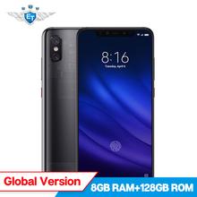 In Stock Xiaomi Mi 8 Pro In Screen Fingerprint Edition 8GB 128GB Global Version Snapdragon 845 SmartPhone 6.21'' Dual Camera NFC
