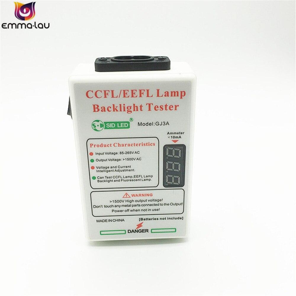 3-60 Inch CCFL/EEFL Led LCD TV Backlight Tester TV Lighting Tube Detector AC85-265V Lamp Aging/Ignition/Short Circuit Tools GJ3A