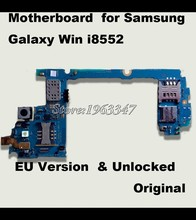 High quality Original Whole Completed Mainboard For Samaung Galaxy Win i8552 Motherboard Unlocked With Full Chips