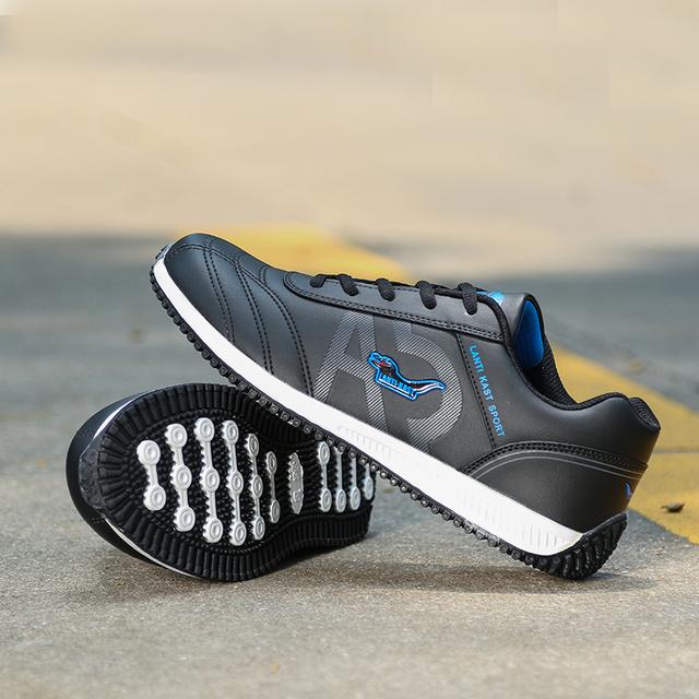 ZENGVEE New Casual Men Footwear Fashion Sport Flats Leather Shoes Mens Crocodile Shoes Black White Autumn Winter Walking Shoes