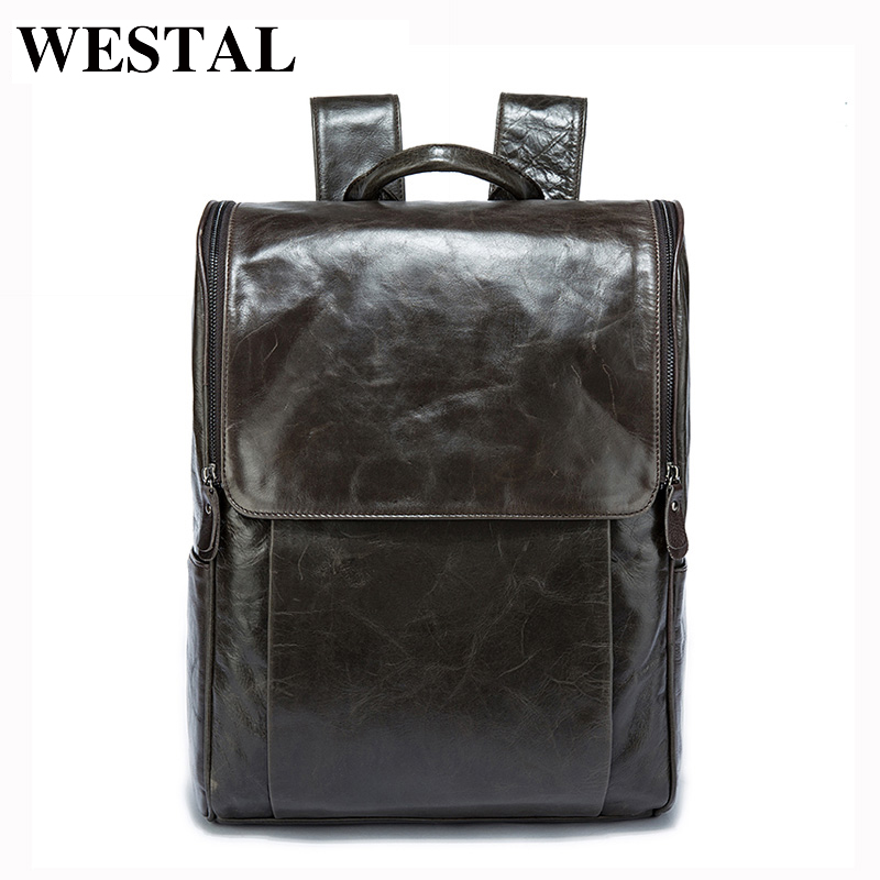 MARRANT Men Backpacks  Genuine Leather Men s Travel Bag Fashion Man