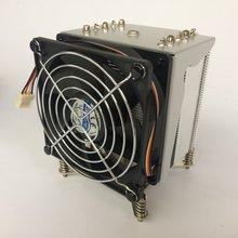 YOLOWIN CPU Cooler 165W 90mm  CPU Fan Aluminum Heatsink for intel  LGA1150/1151/1155/1156/755/1366 все цены
