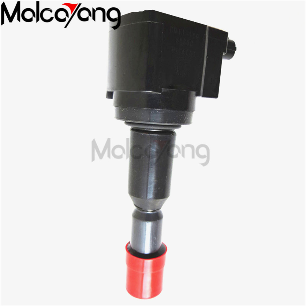 2pcs new ignition coils 30520 pwc 003 cm11 110 for honda fit 2005
