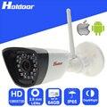 Водонепроницаемый Wi-Fi IP 720 P HD Мини-Камера 2.8 мм Объектив P2P Onvif Ик Ночного Видения видеонаблюдения дома оповещение по электронной почте веб-камера