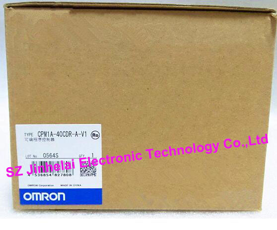 New and original CPM1A-40CDR-A-V1 OMRON Programmable controller фонарь supra sfl plr 12l01 black