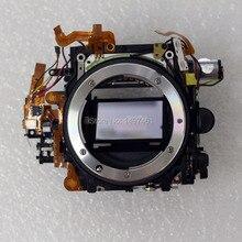 Marco ensamblaje de caja de espejo con apertura sin obturador, piezas de reparación para Nikon D600 D610 SLR, nuevo