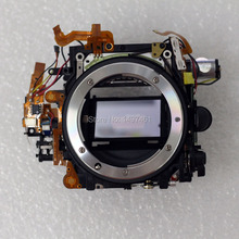新しいミラーボックスフレームシャッターなし絞りassyの修理部品ニコンD600 D610一眼レフ