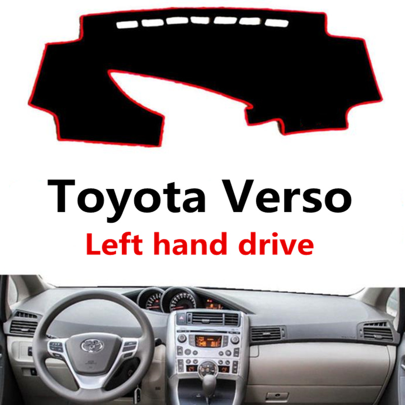 TAIJS Car Dashboard Mat Cover For Toyota Verso Polyester