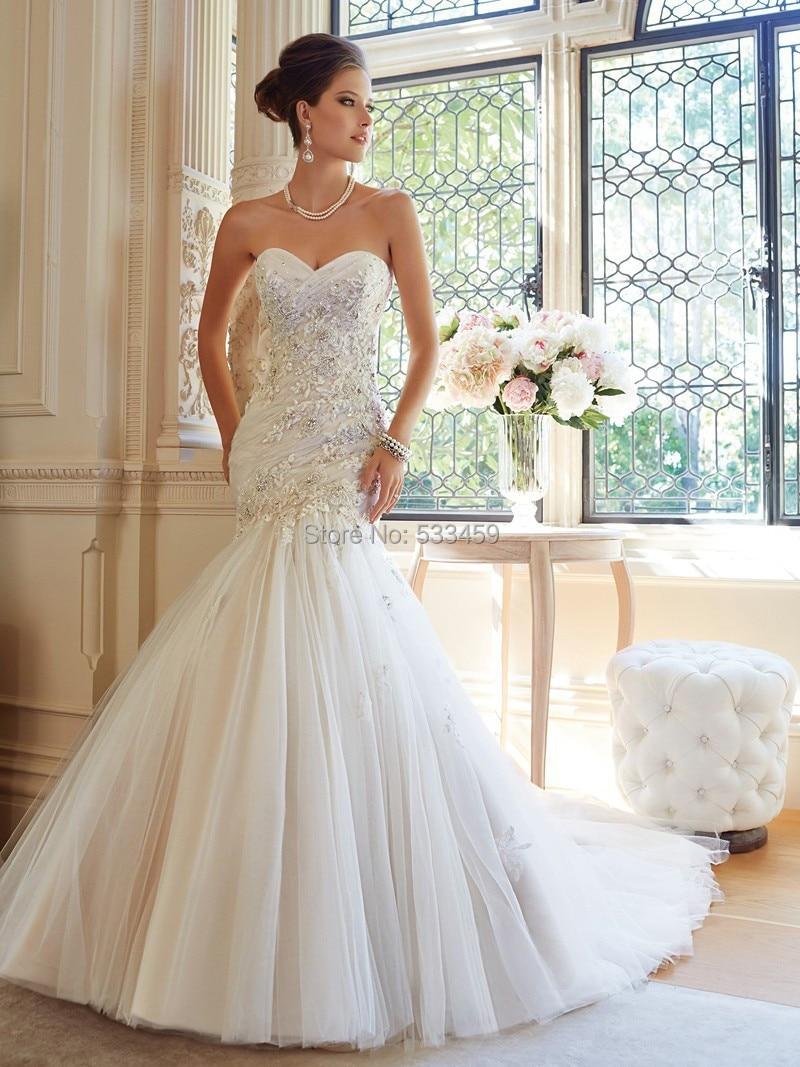aliexpress wedding dresses Elegant Long Sleeves Backless Mermaid Wedding Dress Without Train Lace Wedding Bridal Gown B in Wedding Dresses