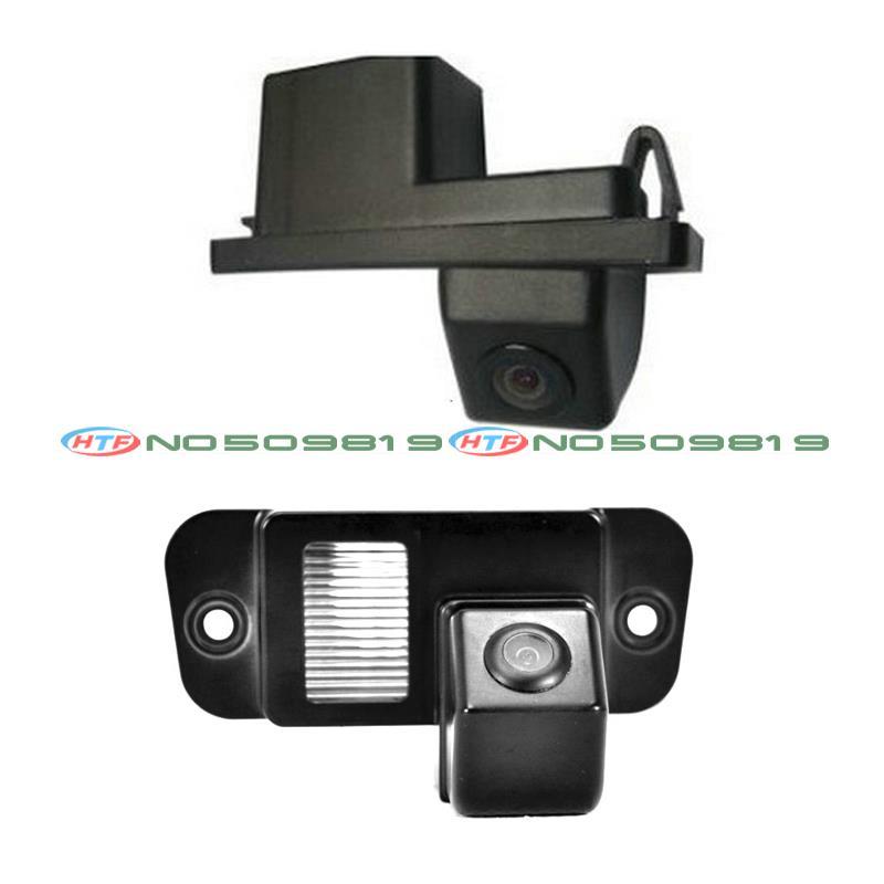 Groothoekbestendige CCD Achteruitrijcamera Reverse Backup Camera voor Ssangyong Rexton Lester Kyron Korando Actyon