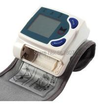 Hotseller 1PCS Digital LCD Wrist Cuff Arm Blood Pressure Monitor Heart Beat Meter Machine