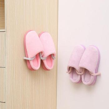 Wall Mounted Hanging Shoe Organizer used to Hang All Types of Shoes and Slippers to Save Space