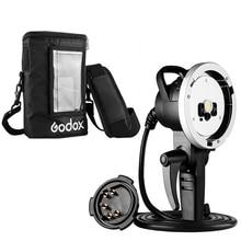 Ручной удлинитель вспышки Godox AD H600B + Портативный защитный чехол для Witstro AD600 AD600B AD600BM Strobe