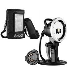 Godox Cabezal de extensión de Flash de mano para AD H600B + bolsa portátil de PB 600, bolsa de protección para Witstro AD600 AD600B AD600BM Strobe