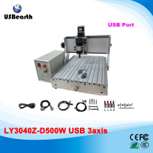 Mini CNC Machinery CNC Milling Machine 3040, woodworking machine with 500w spindle and USB interface, no tax to EU