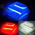 1 Pieza 4D Insignia Llevada Del Coche Luces Impermeable Etiqueta Insignia Emblema Trasero Luz de La Lámpara Blanca/Azul/Rojo para SUZUKI Swift Jimny alto