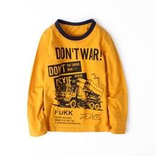 children winter clothing 3 - 12 yrs boys long sleeve t- shirt teenage school clothes 2019 casual spring tops fashions tee