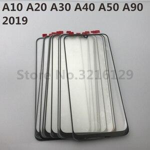 Image 5 - Do Samsung Galaxy A10 A20 A30 A40 A50 A60 A70 A80 A90 M10 M20 M30 oryginalny lcd ekran dotykowy przednia wymienny szklany panel