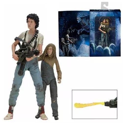 NEW hot 23 cm Alien ripley Action figure jouets collection poupée cadeau De Noël avec la boîte